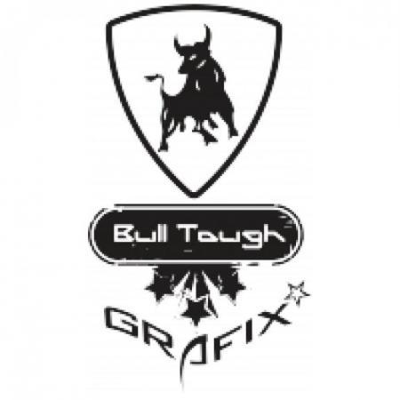 Bull Tough Grafix Logo Vector (CDR) Download For Free