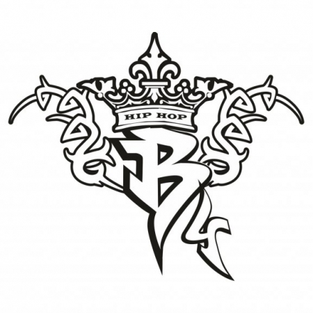 B4 Hip Hop Logo Vector (CDR) Download For Free
