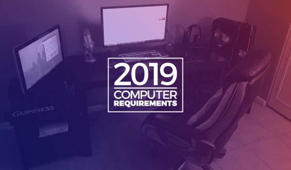 Recommended Graphic Design Computer Requirements 2019