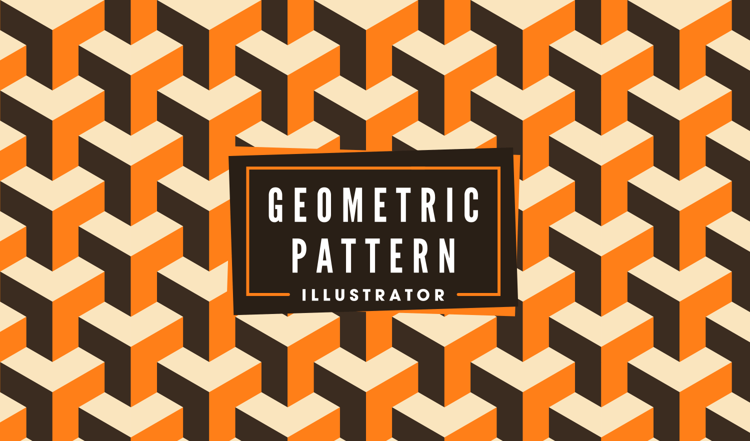 Create A Geometric Repeated Background With Adobe