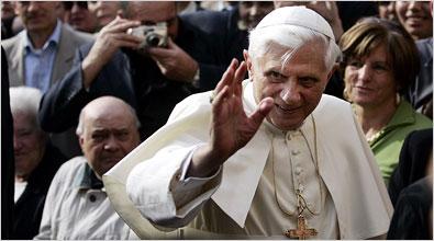 Pope Waving