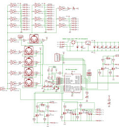 horny an automated microtonal french horn by godfried willem raes the complete circuit looks like this [ 2730 x 1797 Pixel ]