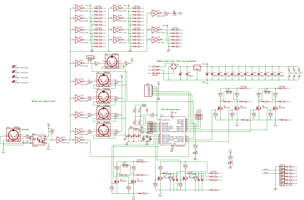 medium resolution of horny an automated microtonal french horn by godfried willem raes the complete circuit looks like this