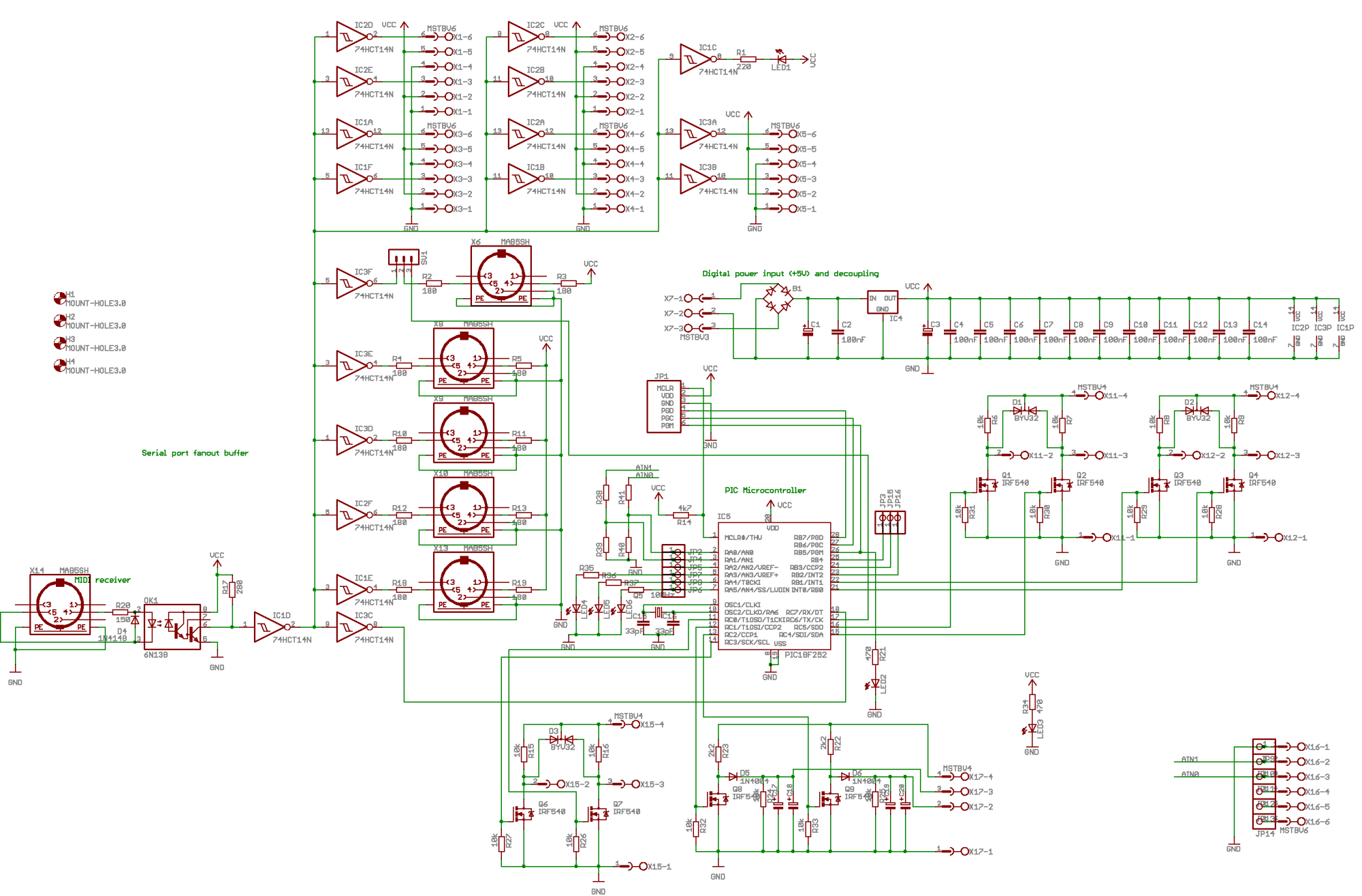 hight resolution of horny an automated microtonal french horn by godfried willem raes the complete circuit looks like this