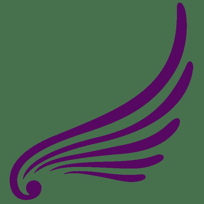 wings the angel logo