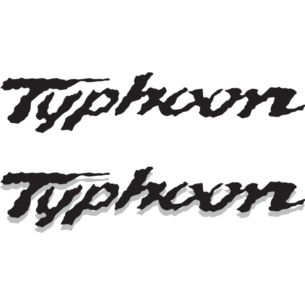 Typhoon logo, Vector Logo of Typhoon brand free download