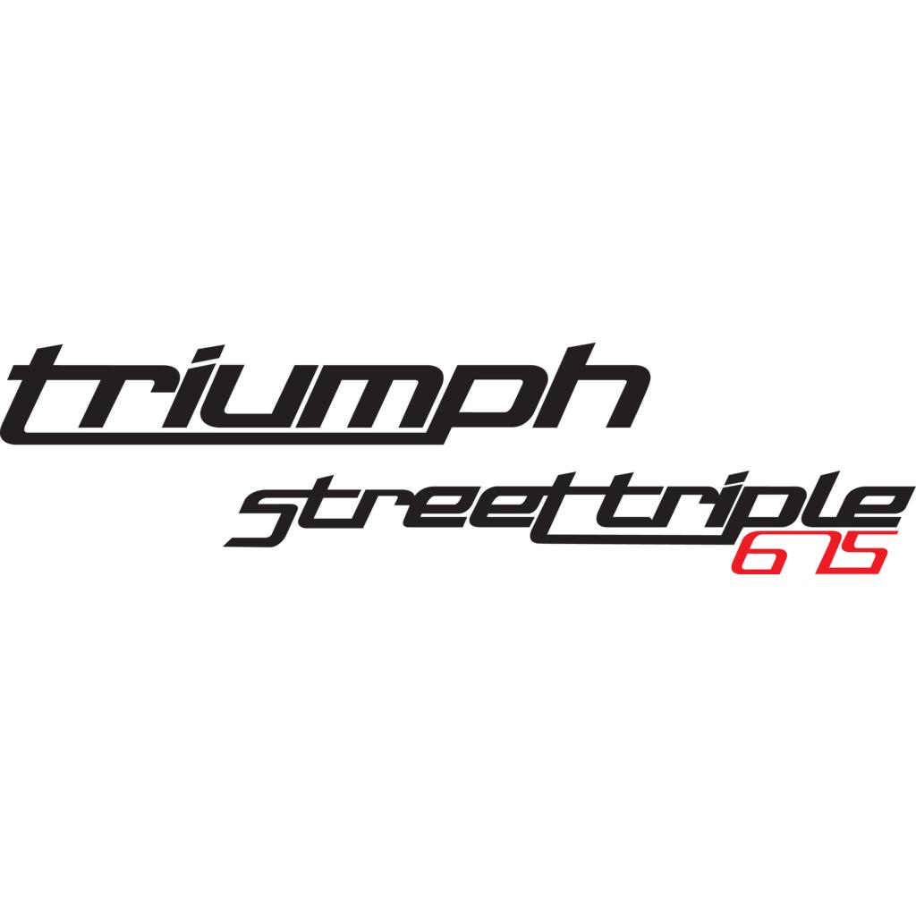 Triumph Street Triple 675 logo, Vector Logo of Triumph