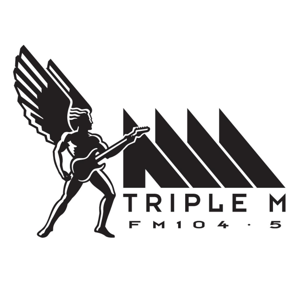 Triple M(74) logo, Vector Logo of Triple M(74) brand free