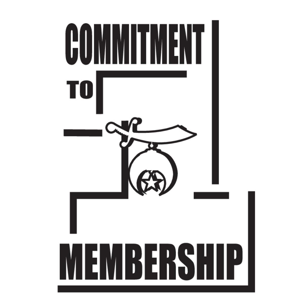 Commitment to Membership logo, Vector Logo of Commitment