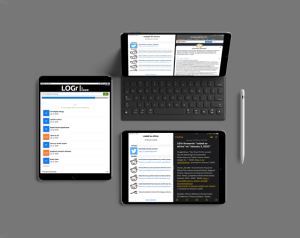 The LOGr Research App for Ipad