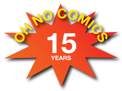 A new logo I made to commemorate the fifteenth anniversary of my comic strip that began in 1999