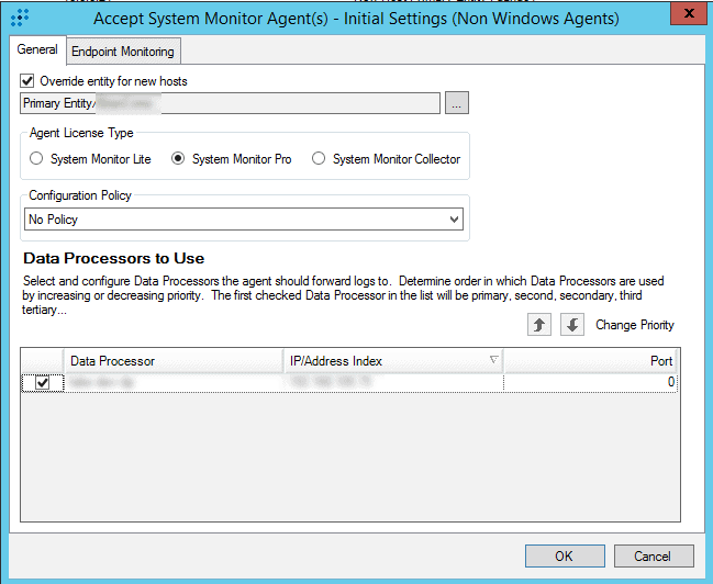 Configuring System Monitor Settings