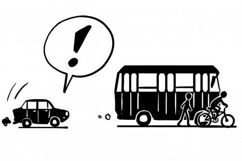 10 mitos sobre movilidad urbana (3/10): el coche es el más rápido