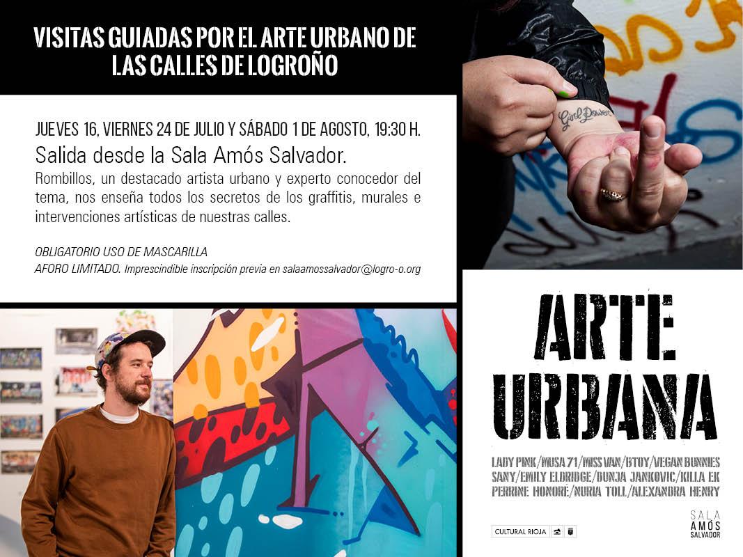 Visitas guiadas por el arte urbano de Logroño – verano 2020