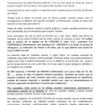 Carta del Párroco de Albelda de Iregua D. Félix Sáenz Solana