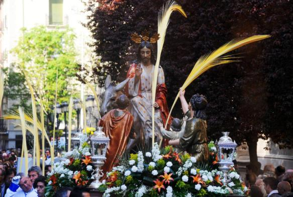 Entrada de Jesús en Jerusalén Logroño