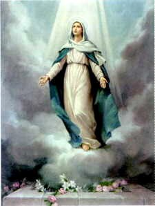 Asuncion de la Virgen María
