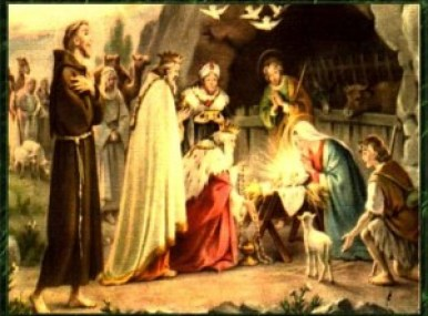 San Francisco de Asis y la Natividad