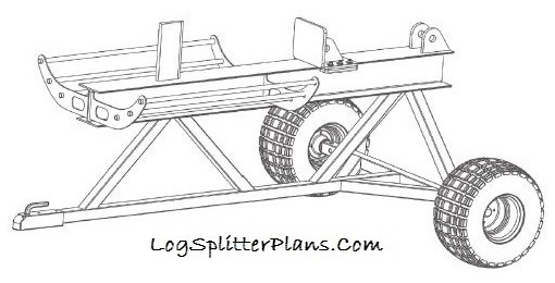 Hightop Log Splitter Plans