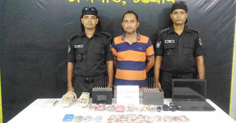 চট্টগ্রামে বিপুল ভিওআইপি সরঞ্জামসহ একজন আটক