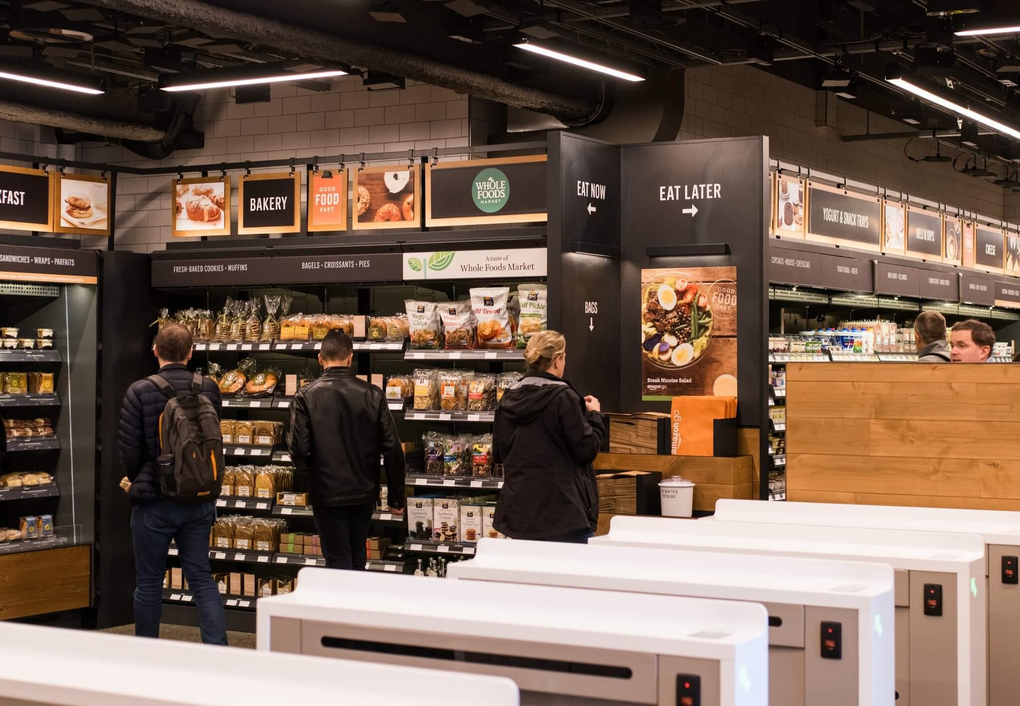 亞馬遜無人商店開幕了! - 致理未來超市|剩食 有機超市