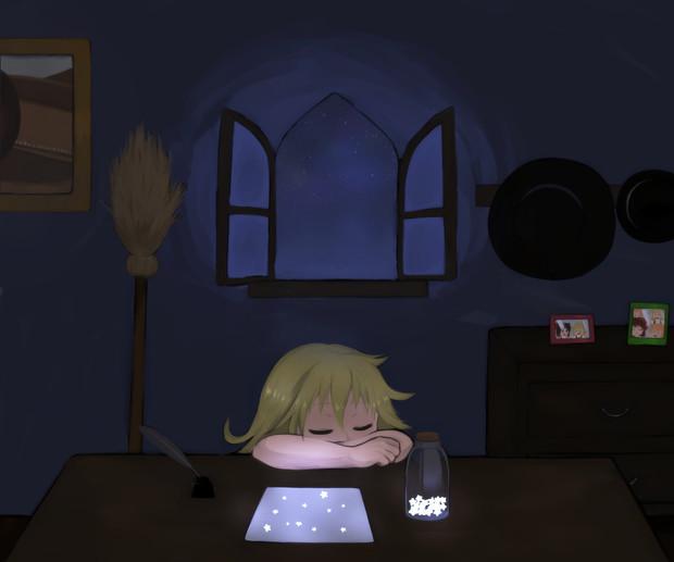 星空 / 女の子 さんのイラスト - ニコニコ靜畫 (イラスト)