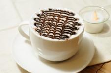 チョコで甘く豊かな味わい。「モカチーノ」