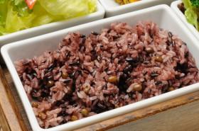 My農家のお米「ひのひかり」を使った古代米。