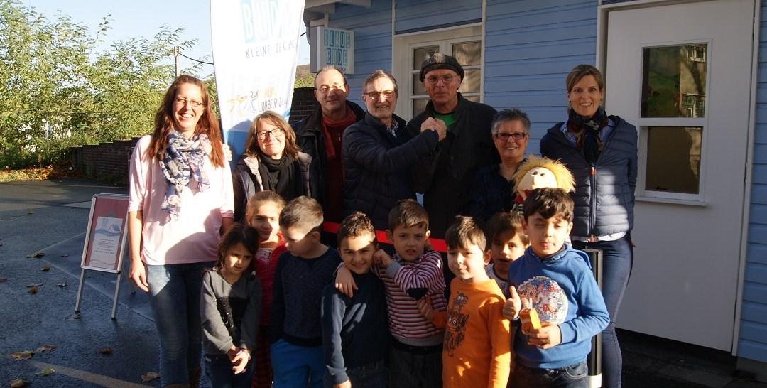 Blaue Bude: Die Freddy-Fischer-Stiftung engagiert sich