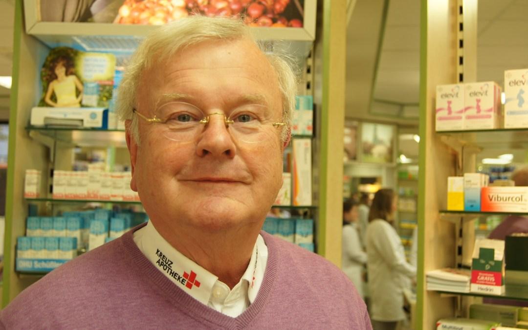Lohberger Unternehmer: Apotheker Werner Heuking