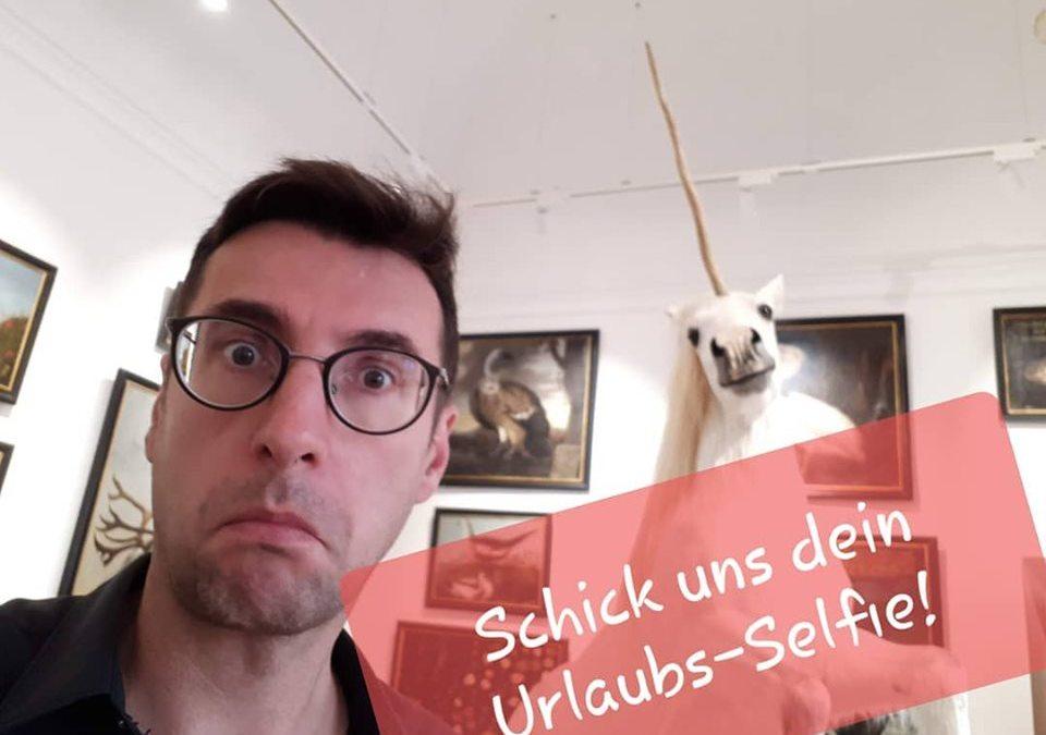 Schickt Lohberg euer Urlaubs-Selfie!
