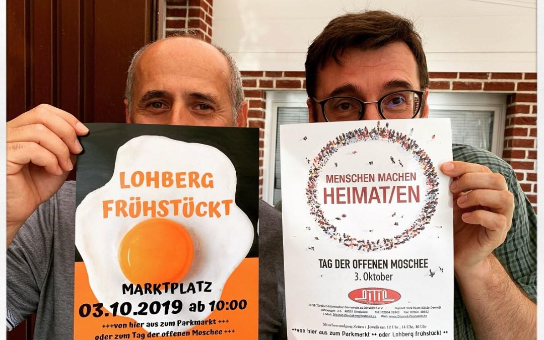 """""""Lohberg frühstückt"""" am 3. Oktober"""