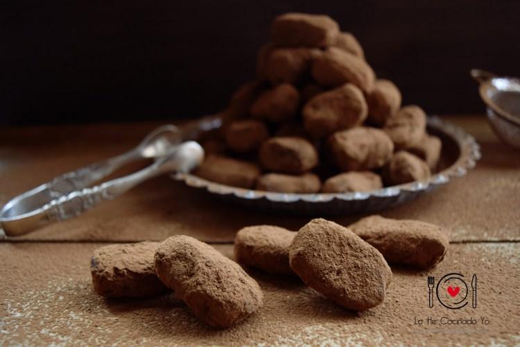 Trufas de Chocolate y Vainilla