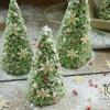 Árboles de Navidad con Chocolate Blanco
