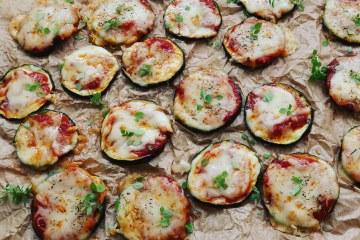 Pizzas de Calabacín
