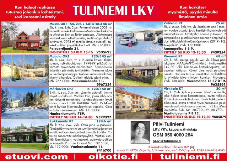 Uusi asunto Lohjan alueelta?