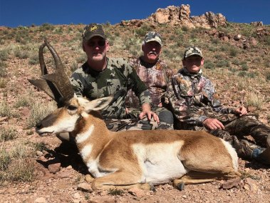 Group Pronghorn Hunting - LOH Outfitters