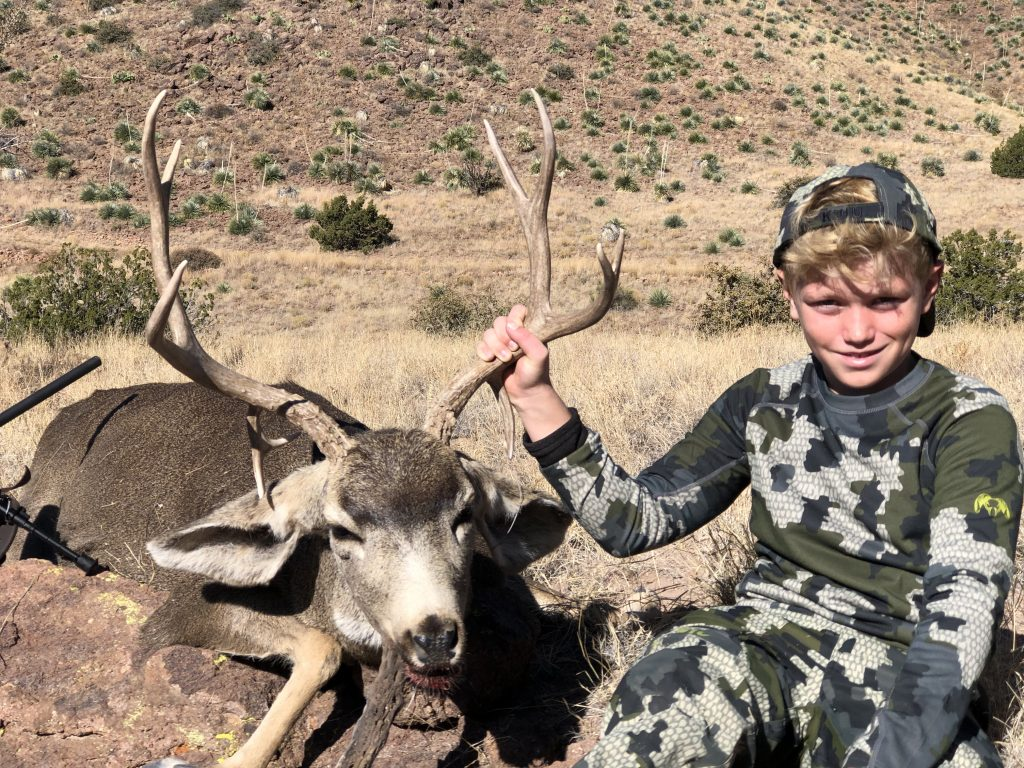 Youth Hunt in New Mexico