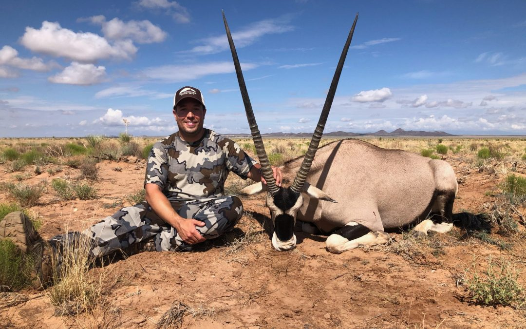 Guided Summer Oryx Hunt in New Mexico