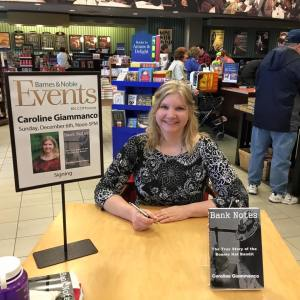 Caroline for author page