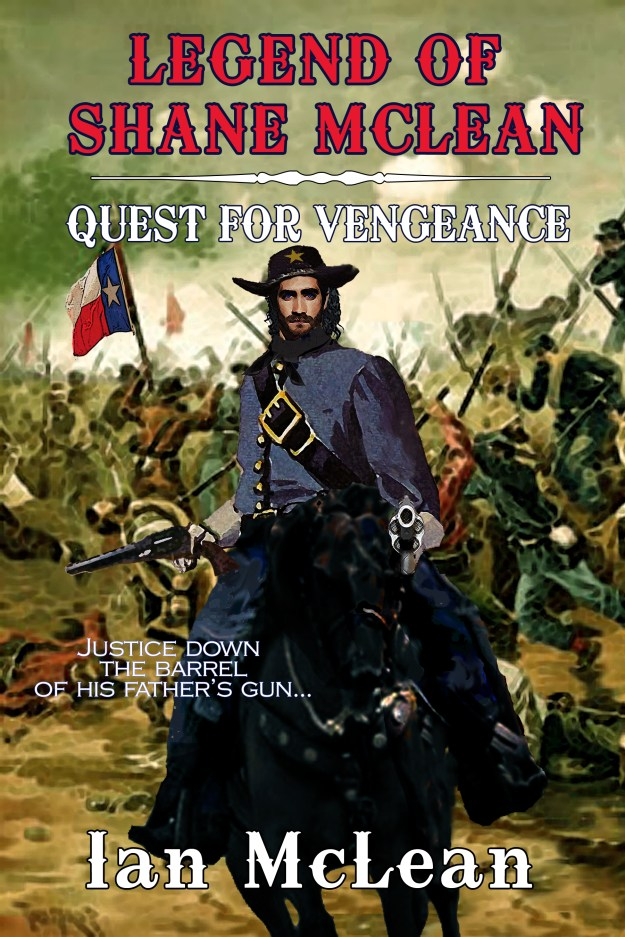 Quest for Vengeance, McLean book cover