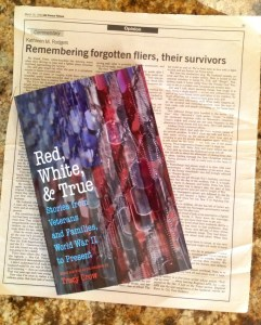 Red, White and True anthology, Potomac Books, Univ. Neb Press, origianl essay kathleenmrodgers