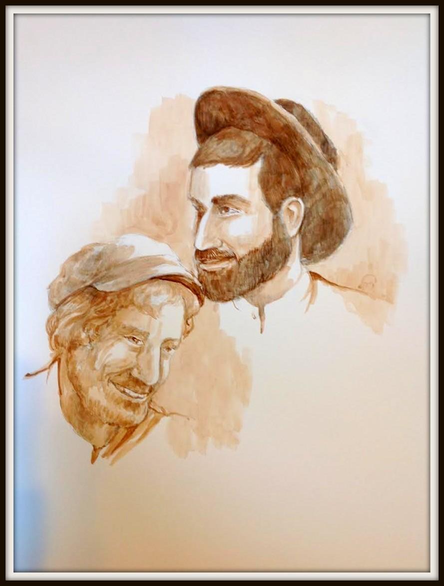Framed Mendel and David