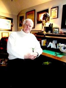 Tom in office
