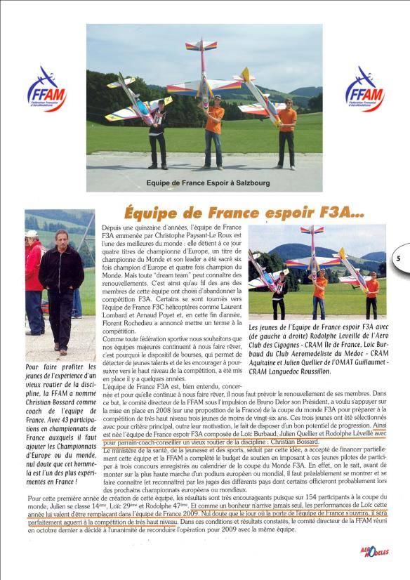 Equipe De France Espoir P 6