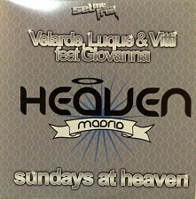 Velarde Luque & Vitti Feat Giovanna - Sundays At Heaven