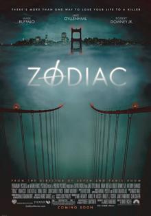 Cartel de la película de David Fincher