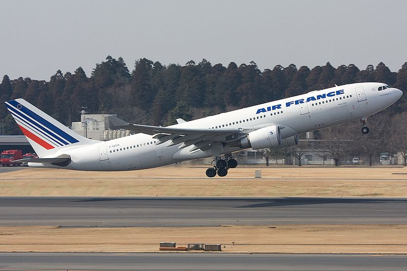 Avión de Air France similar al vuelo AF-447