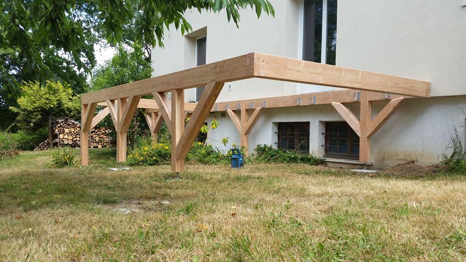 Comment poser une terrasse en bois sur du beton - Comment poser une terrasse en bois sur du beton ...