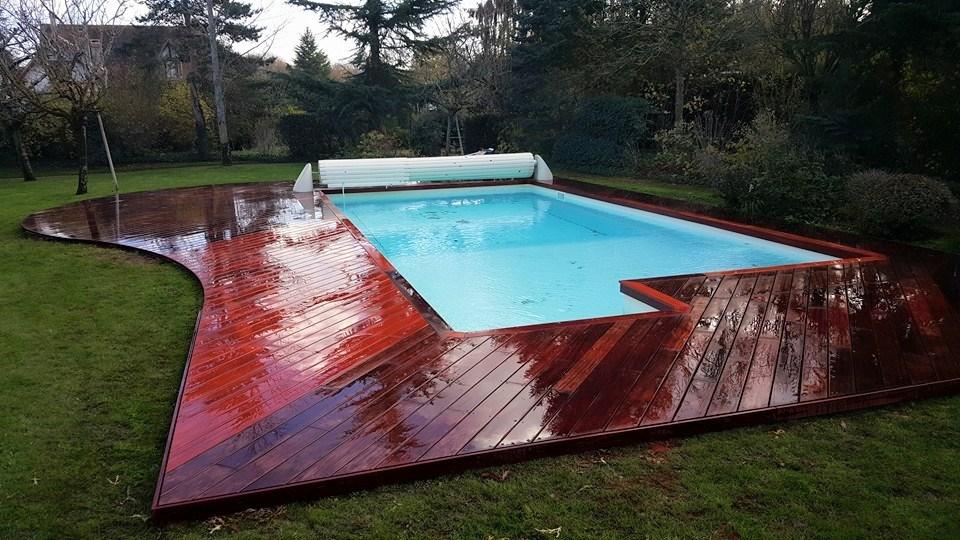 Plage de piscine en bois  Loire Eco Bois